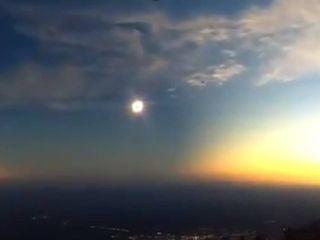 El eclipse solar que paralizó Argentina