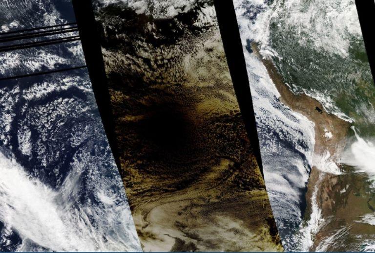 Eclipse solar total oscurece parte del Pacífico Sur