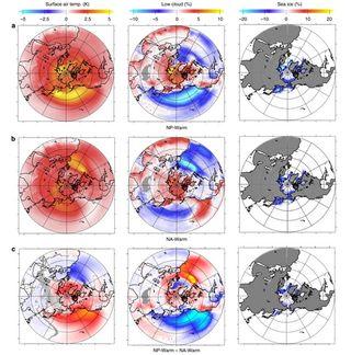 El efecto del Océano Pacífico sobre el calentamiento del Ártico