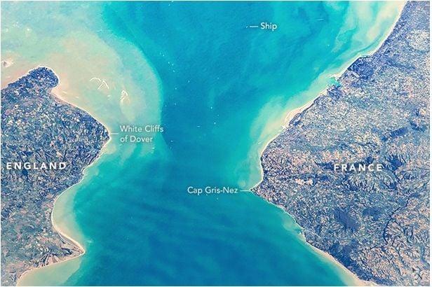 El Estrecho De Dover Desde La Eei