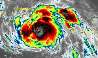 El gran huracán Ida tocará tierra en las costas de Nueva Orleans
