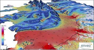 El hielo antártico a lo largo de décadas