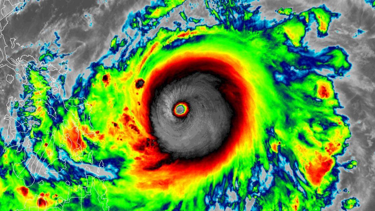 El histórico supertifón Surigae ¿Por que es un tifón de récords?