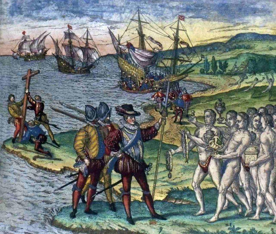 El huracán que se cruzó con Colón