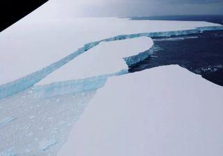 El iceberg más grande del mundo directo a colisionar con las Georgias