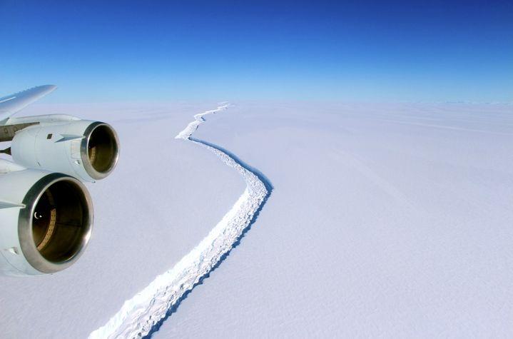 El Iceberg Más Grande Jamás Registrado