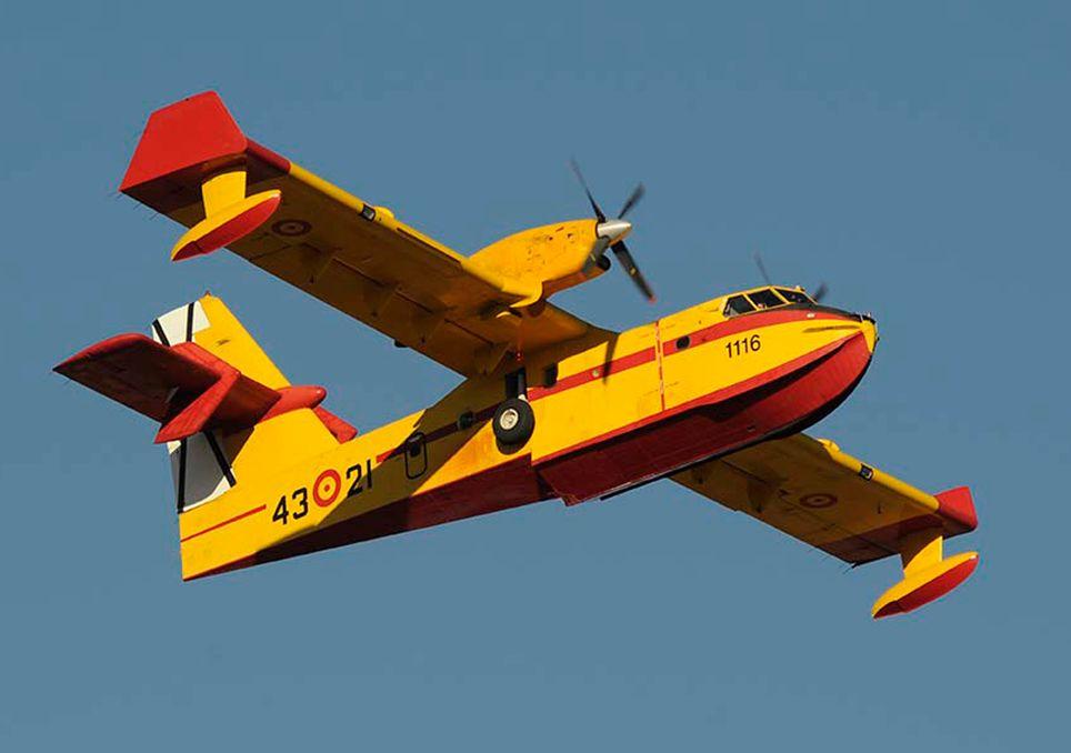Avión antiincendios