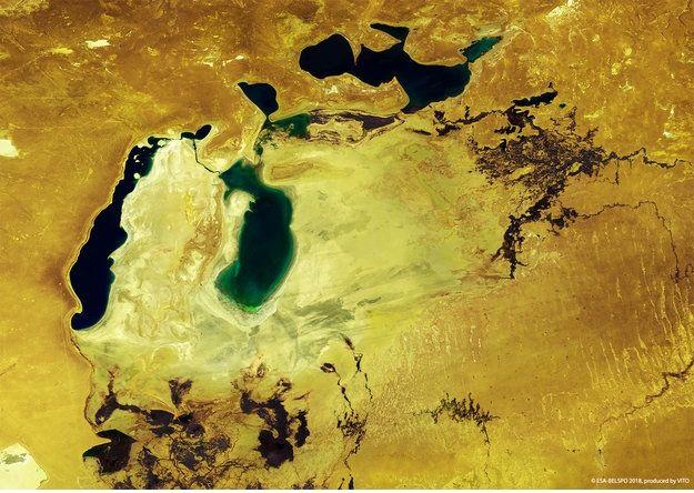 El Mar De Aral, Por Proba-V