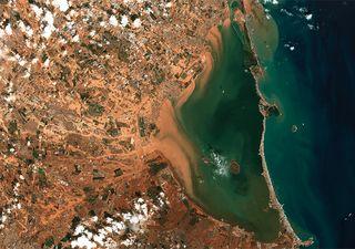 El Mar Menor: una catástrofe ecológica por culpa de la DANA, dicen