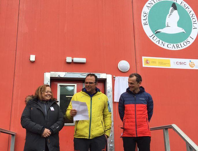 El Ministro De Ciencia Y La Presidenta Del Csic Visitan La Base Antártica Juan Carlos I