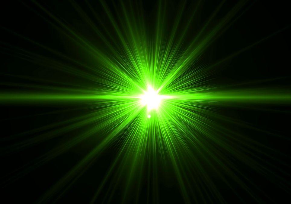 Rayo verde