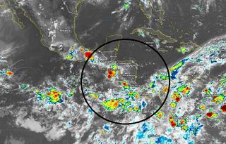 El NHC sigue apostando por ciclones tropicales sobre América Central