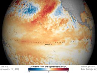 """""""El Niño"""" se debilita y asoman condiciones neutrales"""