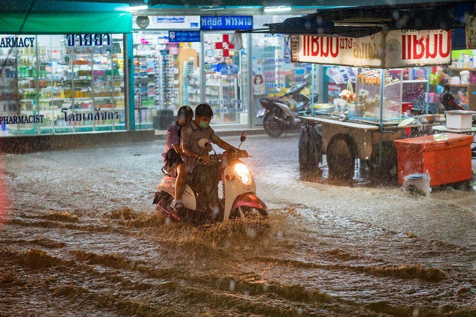 El Niño, Tailandia, sudeste asiático