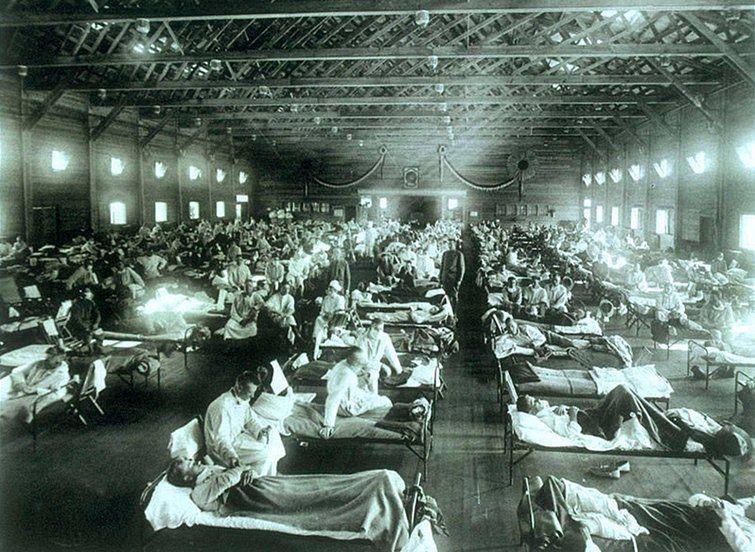 "El Niño Y La ""influenza"" (La Gripe) De 1918: La Gripe Española"