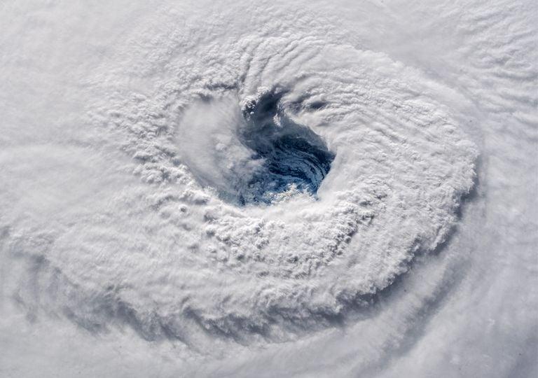 Ojo del huracán Florence