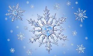 El origen de las formas de los cristales de hielo