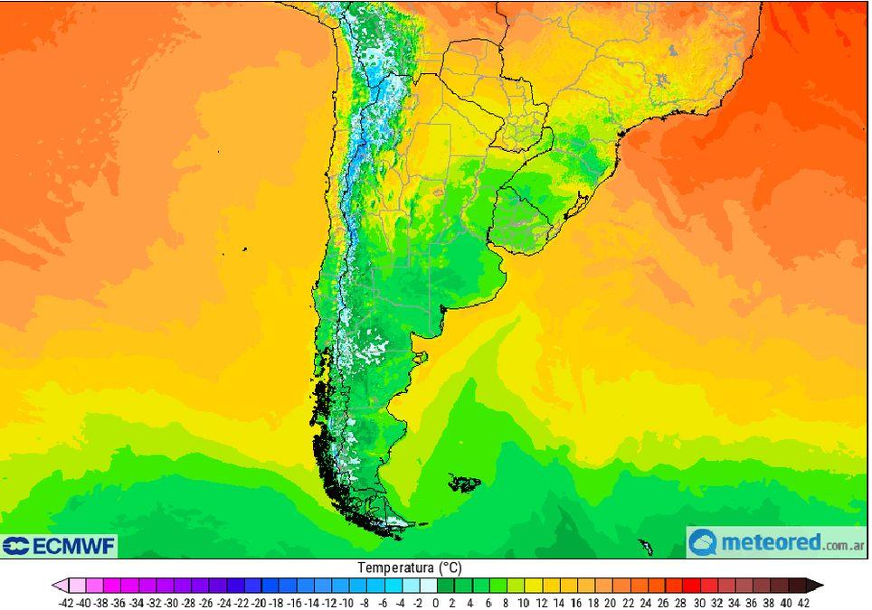 Temperatura Minima Helada Frio