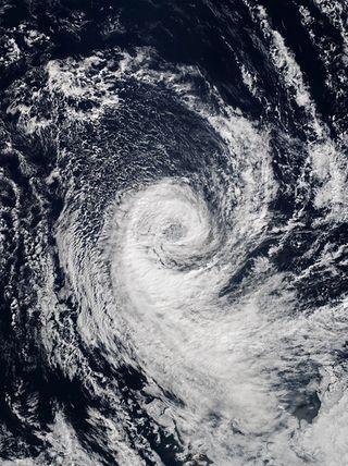 El otro ciclón subtropical frente a las costas de Chile: Katie en 2015