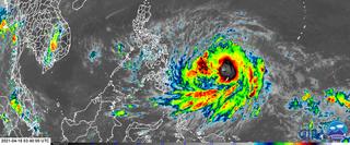 El Pacífico occidental ve nacer el primer tifón del año: Surigae