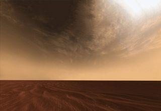 El papel de las nubes en la atmósfera primitiva de Marte