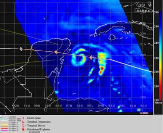 El peligroso huracán Grace se dirige hacia México con categoría 1