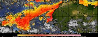 El polvo africano veranea en América del Norte y Caribe