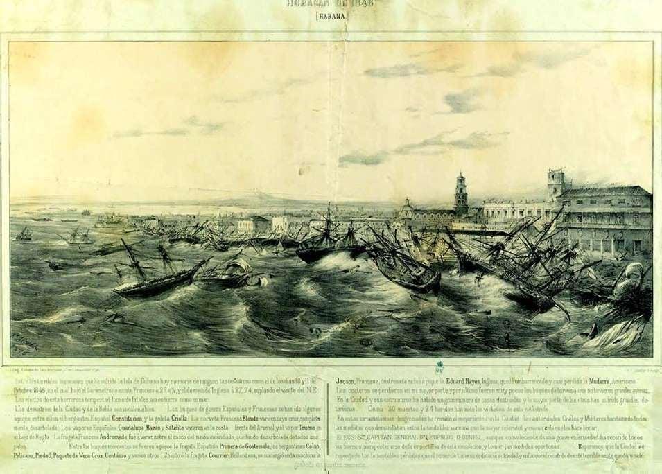 El primer aviso de huracán de la historia