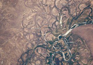 El cambiante río Negro en la Patagonia Argentina