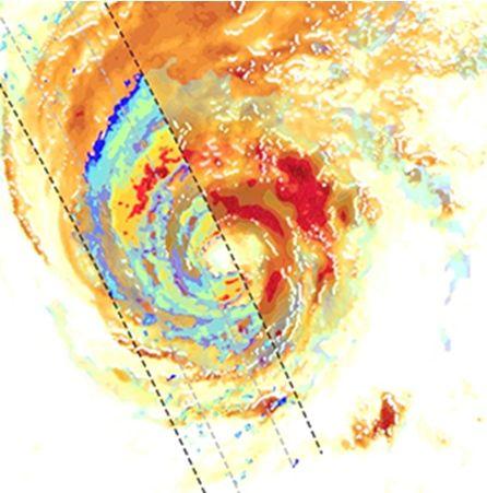 El Satélite Paz Registra Las Primeras Señales Sobre Fuertes Precipitaciones