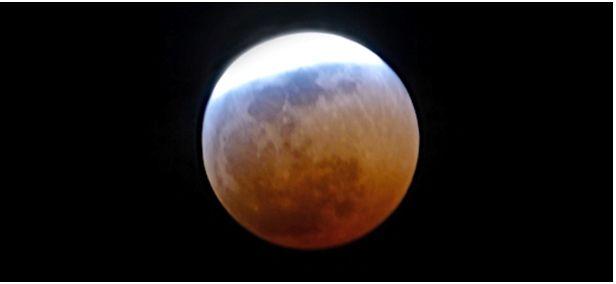 El Sello Del Ozono En El Eclipse De Luna
