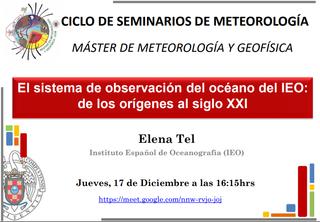 El sistema de observación del océano del IEO