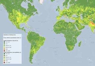 Extracción de agua subterránea pone en peligro a varias ciudades
