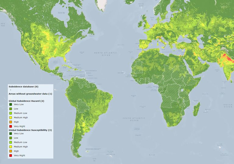Subsidencia Tierra
