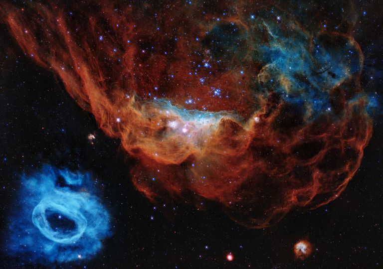 Telescopio espacial Hubble aniversario 30 años