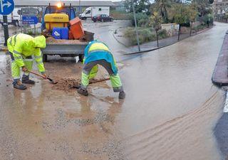 El temporal de levante golpea el sureste: inundaciones en Murcia
