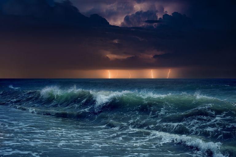 tormenta mar
