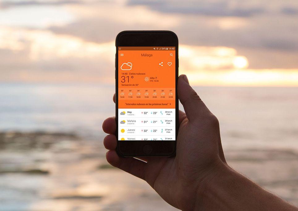 el tiempo das una app con los pronsticos del modelo europeo