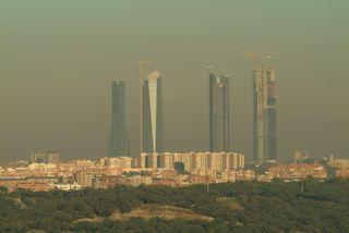 Tiempo anticiclónico, boinas y 'smog' rivalizan con nuestra salud