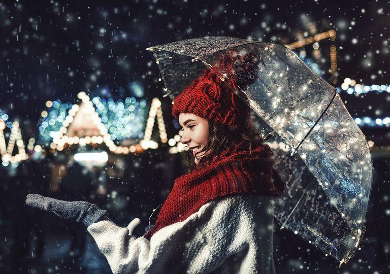 Nieve Navidad