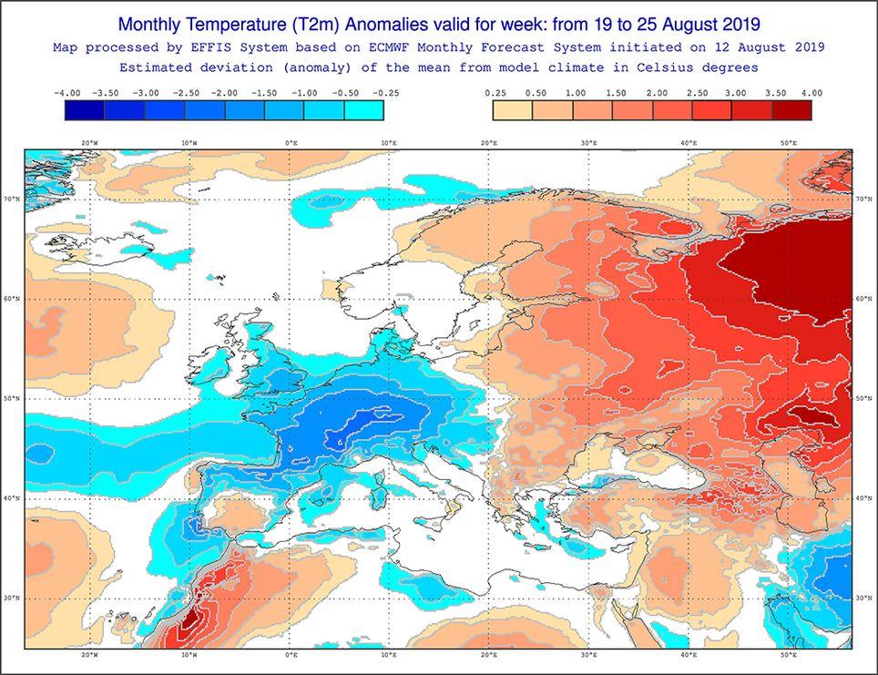 Temperatura agosto