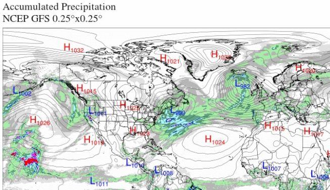 El Tiempo En Semana Santa De 2018 ¿dónde Está El Anticiclón De Las Azores?