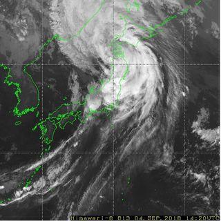 El tifón Jebi golpea el sur de Japón