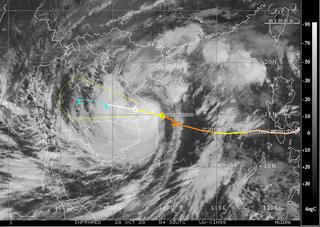 El tifón Molave golpea a Vietnam