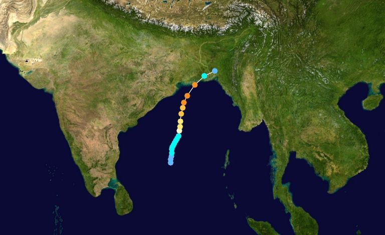 El Triste Récord Del Ciclón Tropical Bhola