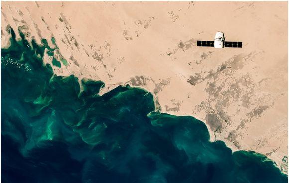El Viaje De Una Nave Espacial A La Estación Espacial Internacional