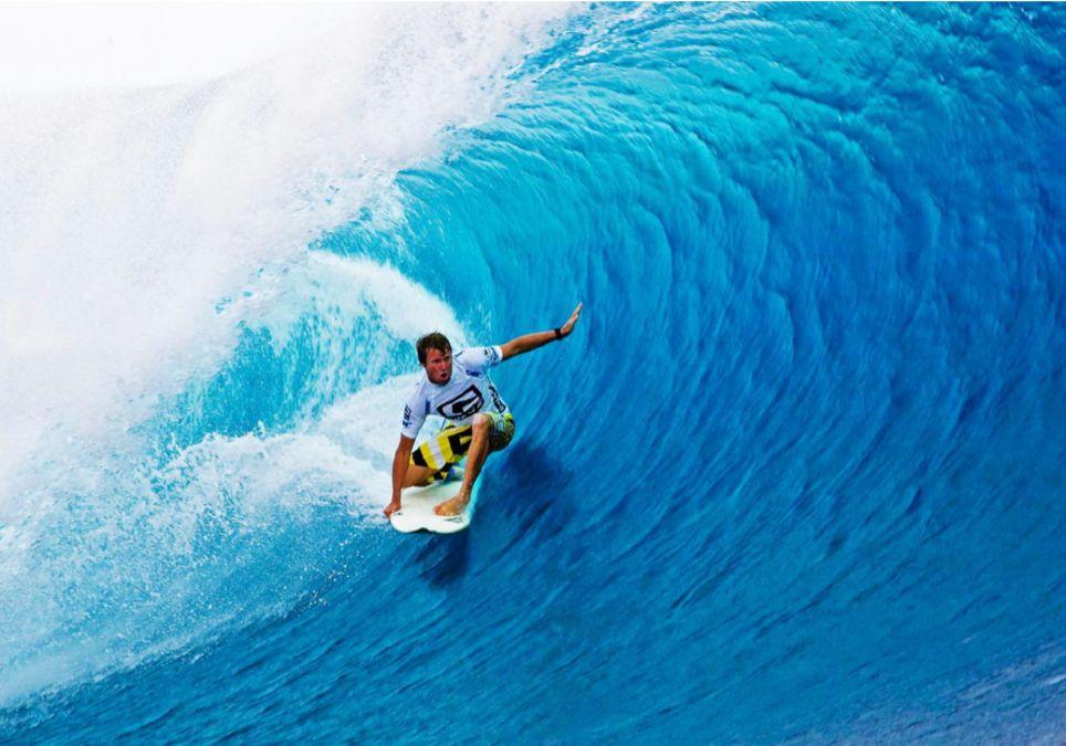 Viento rozamiento fricción ola surf