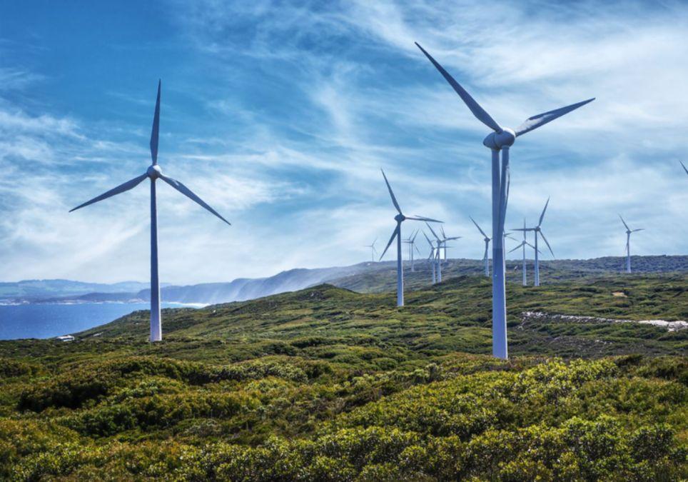 viento energia eólica aerogeneradores
