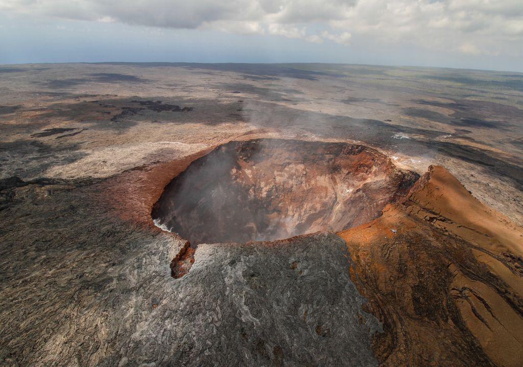 Cretere vulcano Mauna Loa