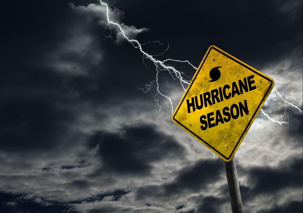 época de furacões